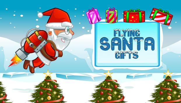 Flying Santa Gifts poster