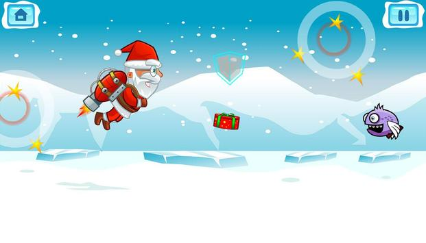 Flying Santa Gifts apk screenshot