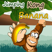 jumping Kong Banana icon
