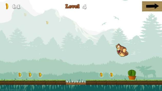 jumping Kong Banana apk screenshot