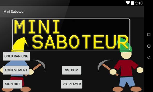 Mini Saboteur apk screenshot