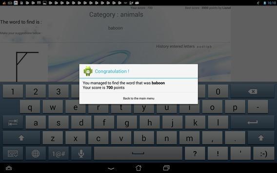 Hangman screenshot 11
