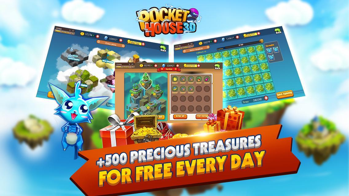 Pocket House 3D for Android - APK Download