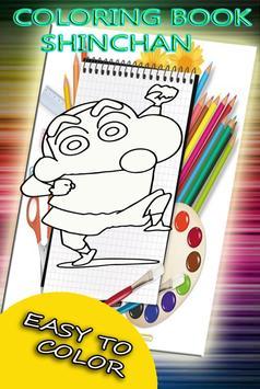 Coloring Book  for Shin Chann screenshot 3