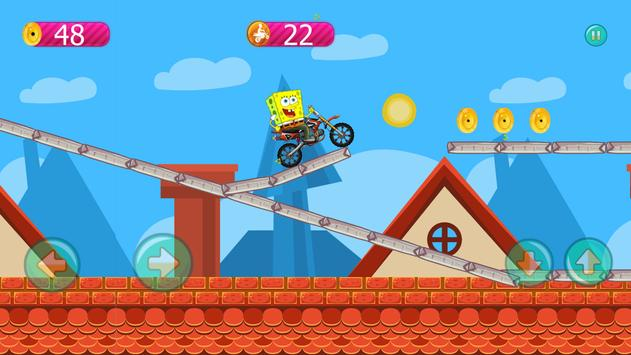 spongbob motorcycle adventures game apk screenshot