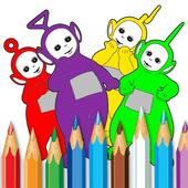Guide Teletubbie Paint Sparkle icon