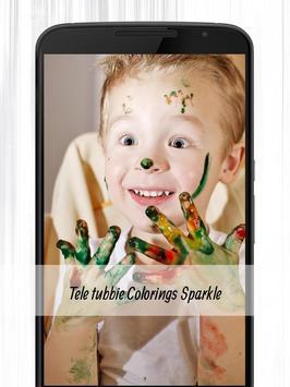 Guide Teletubbie Paint Sparkle poster