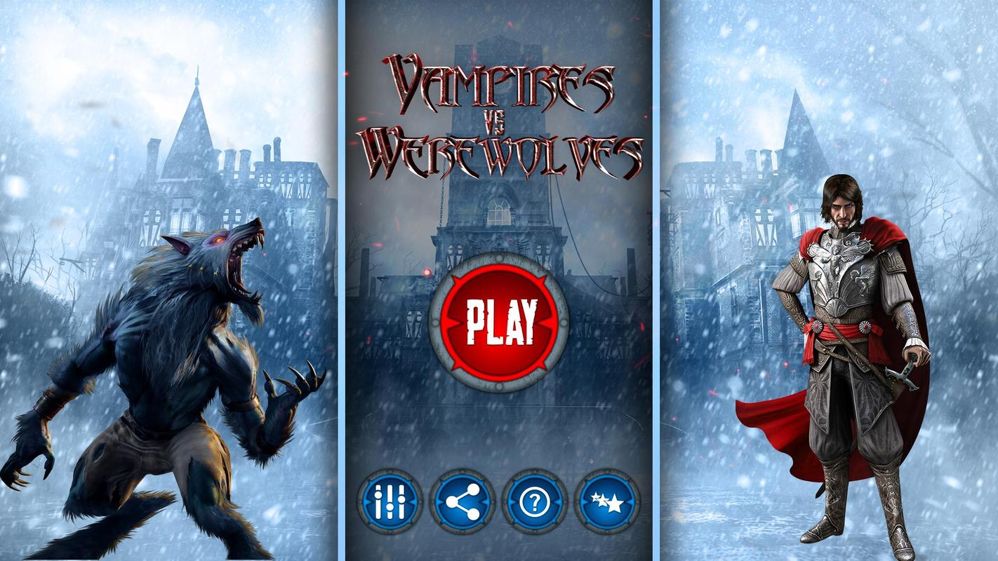 Vampire Vs Werewolves Game