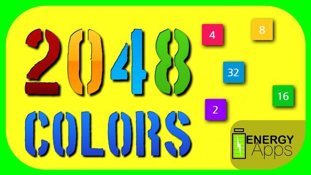 2048 Colores captura de pantalla 10