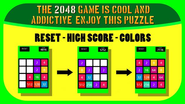 2048 Colores captura de pantalla 3