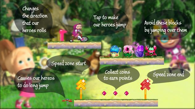 MASHA And MICHKA: Free Reflection Educational Game screenshot 4