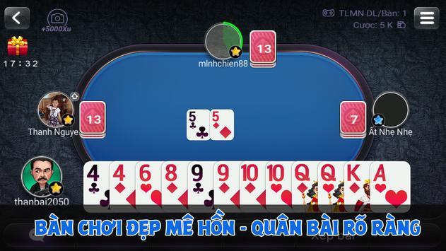 Game Bai Online - Danh Bai Tien Len Mien Nam screenshot 1