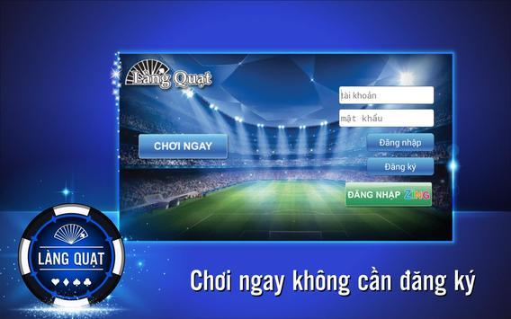 Lang Quat-Card Game: Tien len poster