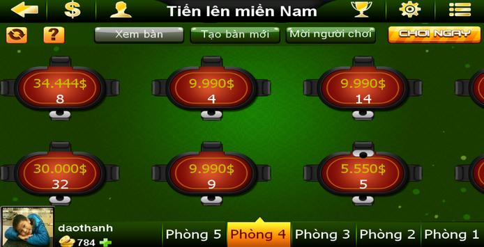 Danh Bai Tien Len Online screenshot 9