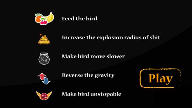 Bird Fever (Pooping bird) poster
