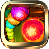 Extinction Bubble Shooter for Zuma classic lover icon