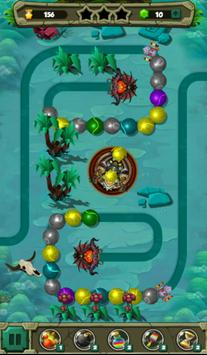 Extinction Bubble Shooter for Zuma classic lover poster