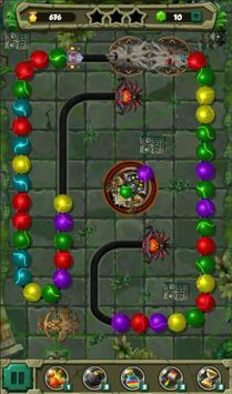 Extinction Bubble Shooter for Zuma classic lover screenshot 4