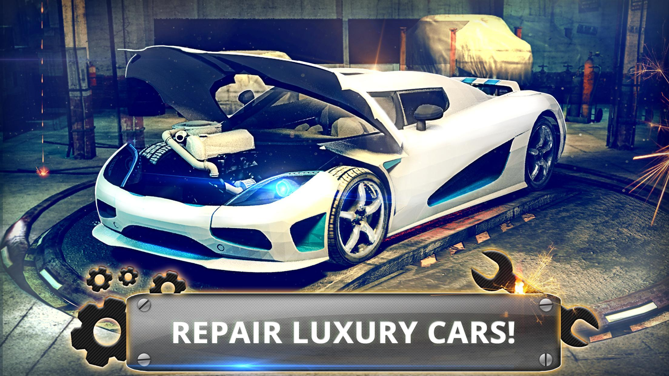 Super Car Mechanic: Fixing & Tuning Simulator 2018 for Android - APK