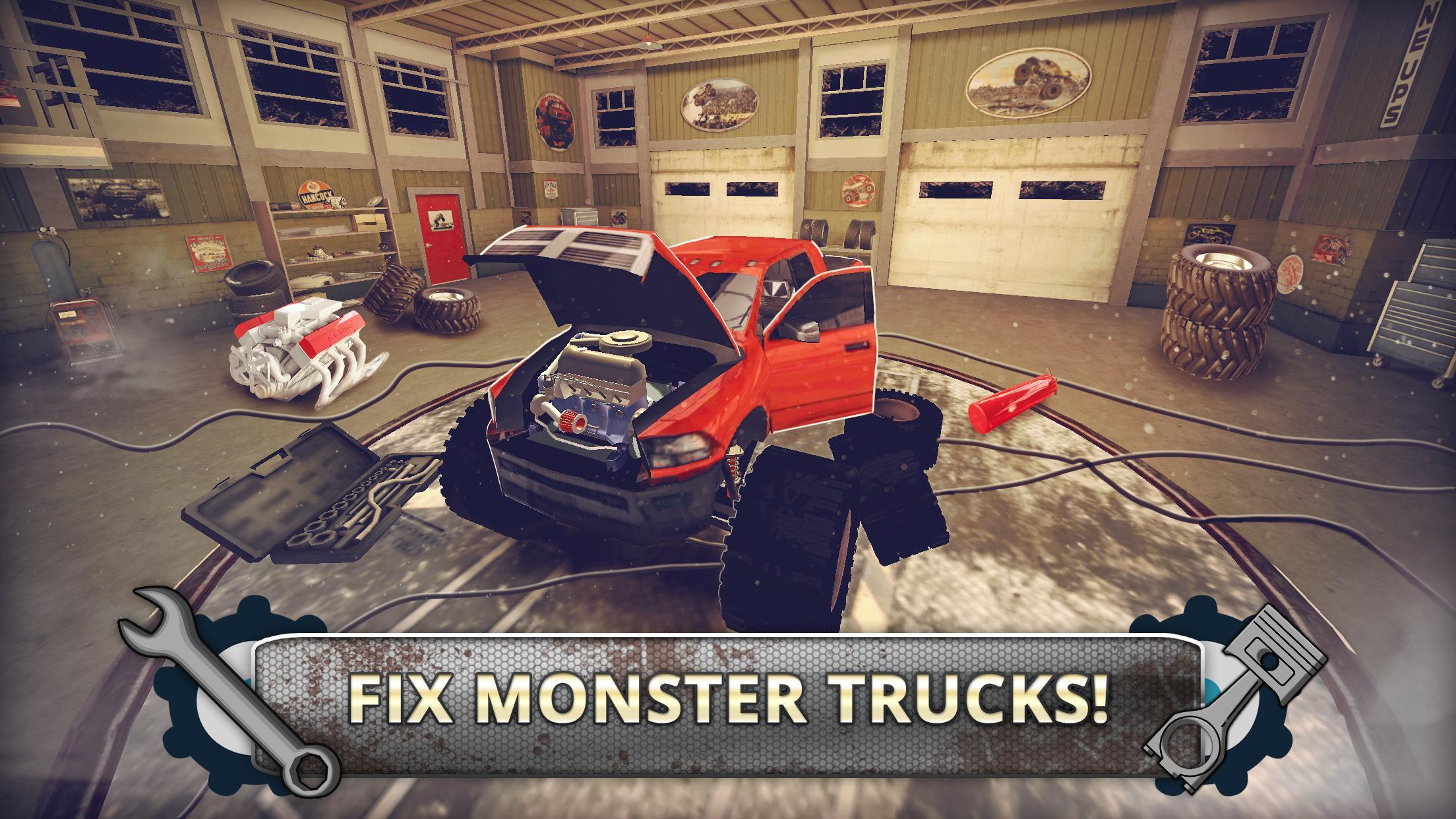 Monster Truck Mechanic for Android - APK Download