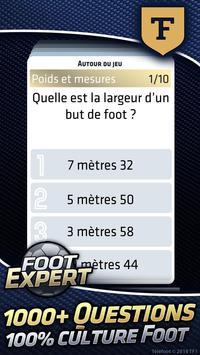 Foot Expert, le Quiz TéléFoot 100% Foot screenshot 1