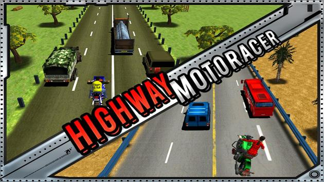 Highway Moto Rider -Bike Rider apk screenshot