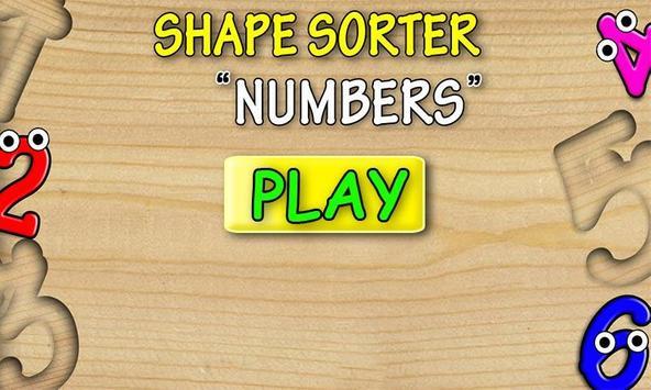 Kids Shape Sorter: Numbers screenshot 1