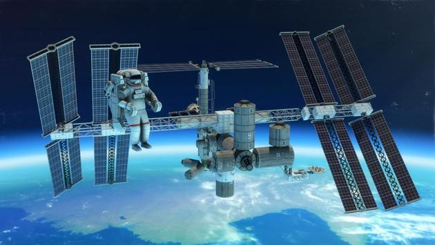 3d space walk astronaut simulator shuttle game for android for Simulatore 3d