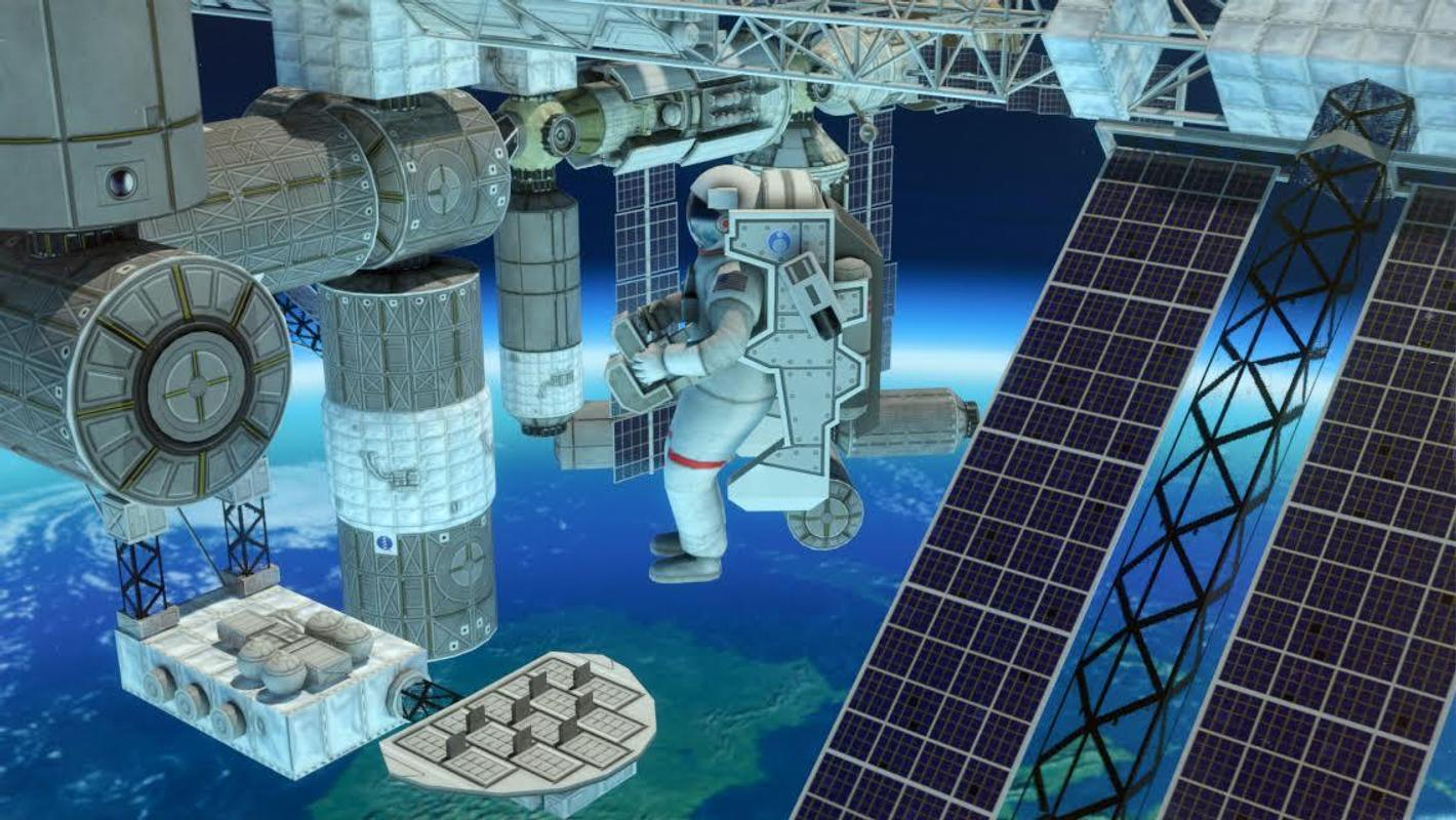 3D Space Walk Astronaut Simulator Shuttle Game For Android