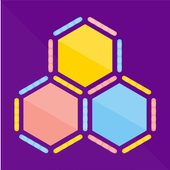 Lines and Hexa icon