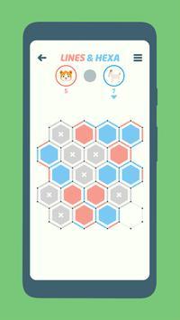 Lines and Hexa screenshot 3