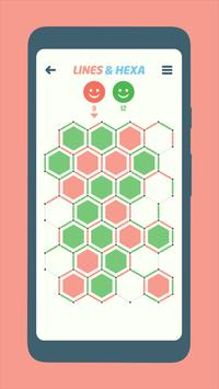 Lines and Hexa poster