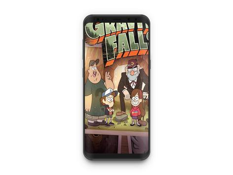 Gravity Falls wallpapers apk screenshot