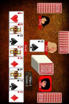 Crazy Eights Free apk screenshot