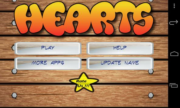 Hearts Free apk screenshot