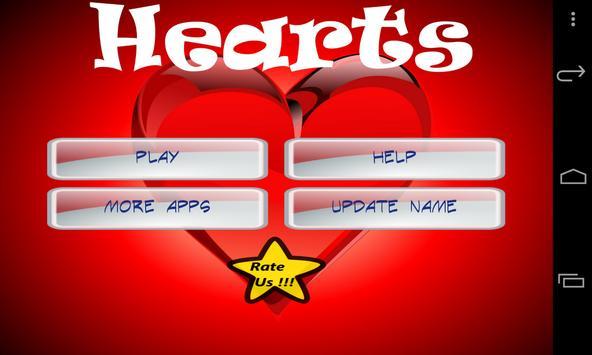 Hearts apk screenshot