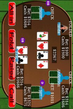 Texas Holdem Poker King Free poster