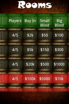 Texas Holdem Poker apk screenshot