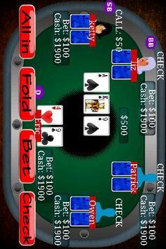 Texas Holdem Poker Free poster
