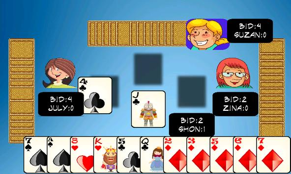 Spades game apk screenshot