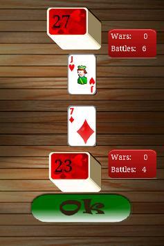War - Playing card Free apk screenshot