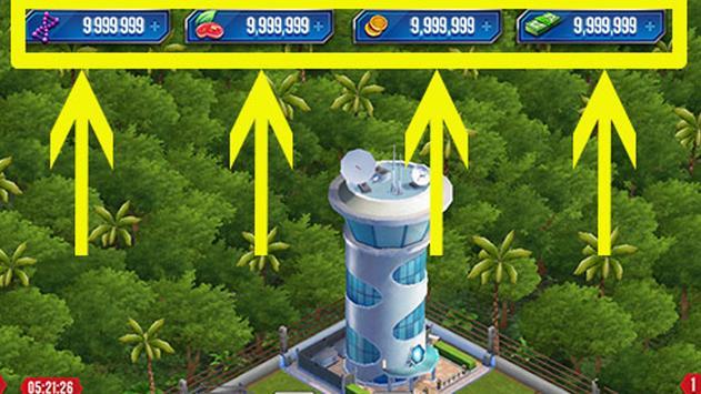 Cheats Jurassic World -!Prank! screenshot 1