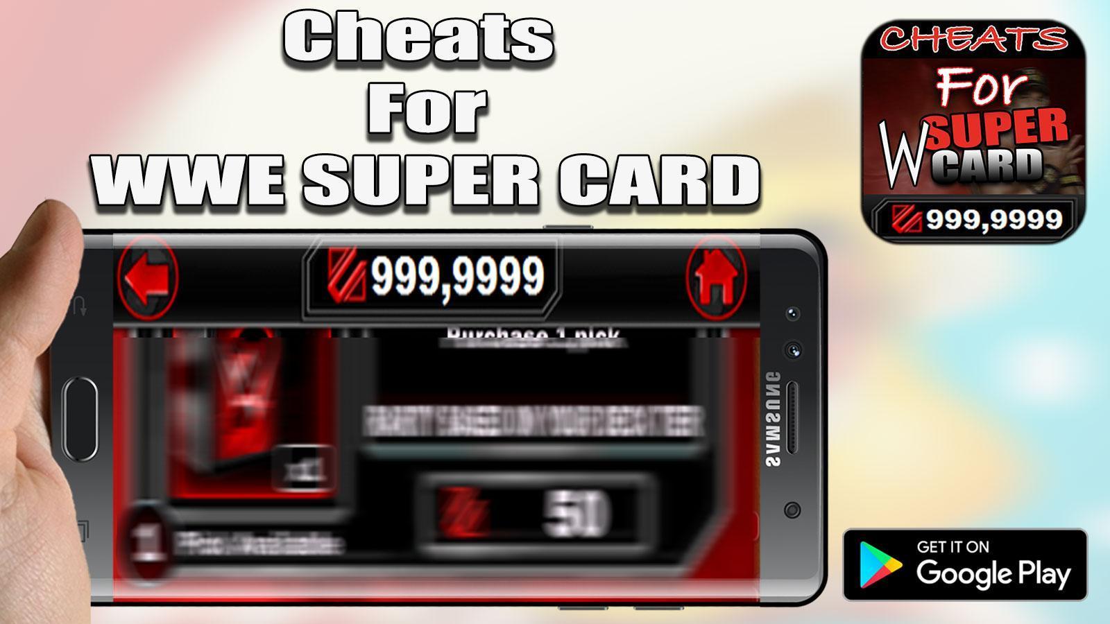 wwe supercard hack apk download