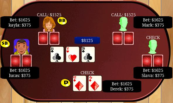 Aces Texas Hold'em Poker poster