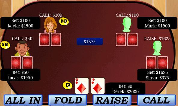 Aces Texas Hold'em Poker apk screenshot