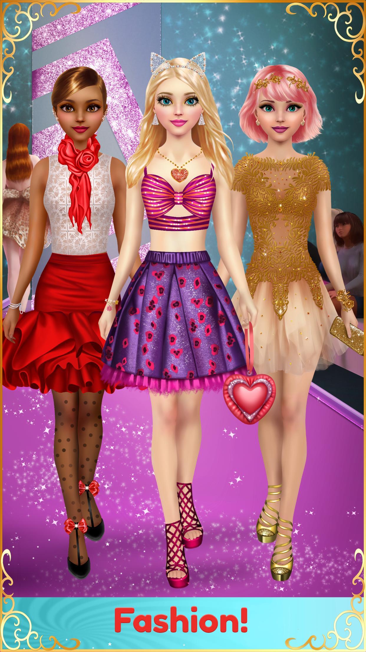 Juegos De Chicas Maquillaje Y Vestir For Android Apk