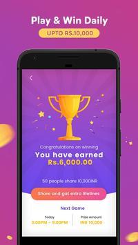 GameShow - Live Quiz Game App to Earn money online screenshot 4