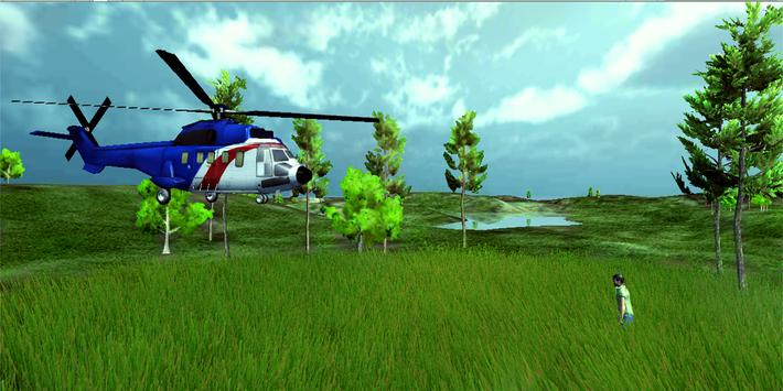 Rescue City & Army Helicopter Simulator poster