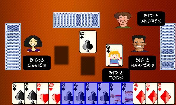 Spades - card games apk screenshot