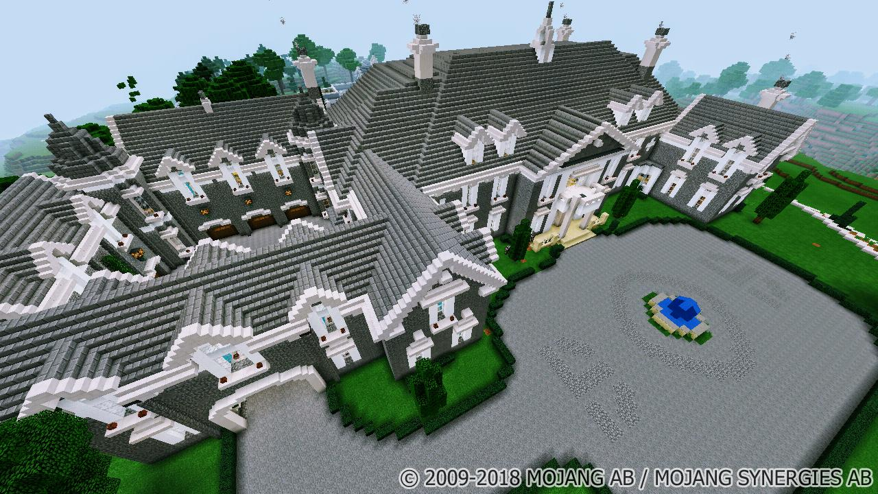 Royal Mansion Minecraft Map For Android Apk Download